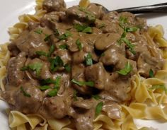 Venison Stroganoff - Cook'n with Mrs. G - Venison Stroganoff – Cook'n with Mrs. G Venison Stroganoff - Elk Recipes, Stew Meat Recipes, Cooking Recipes, Game Recipes, Deer Steak Recipes, Dinner Recipes With Venison, Recipes With Deer Meat, Quick Recipes, Deer