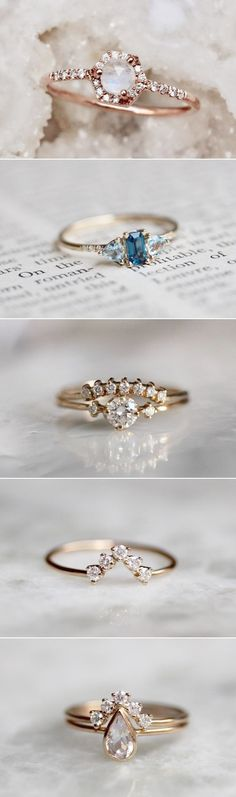 Ahh >> Best Engagement Rings On A Budget #nice Best Engagement Rings, Beautiful Engagement Rings, Long Engagement, Engagement Jewelry, Wedding Accessories, Wedding Jewelry, Accessories Shop, Gold Wedding, Trendy Wedding