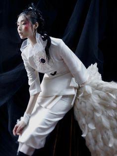 Noir et Blanc by Lee Gun Ho Vogue Korea Jan.2013