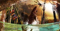 Artista recria cenas do cotidiano dos dinossauros, e o resultado é magnífico | Curto e Curioso