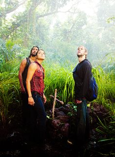 Sayid, Ana Lucia & Charlie