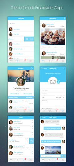 ionHeaven - Ionic themes apps - ui