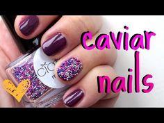 Nails | How To Do Ciaté Caviar Manicure Nails Tutorial