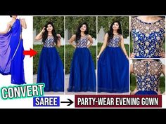 best=Convert Old Saree Into Prom Gown Dress In Just 15 Minutes , Shop ball gown prom dresses and gowns and become a princess on prom night. prom ball gowns in every size, from juniors to plus size. Princess Prom Dresses, Fitted Prom Dresses, Dresses Uk, Trendy Dresses, Long Dresses, Party Wear Evening Gowns, Ball Gowns Prom, Diy Gown, Diy Dress