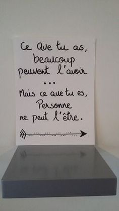 dimension de l'affiche 24x32 sur papier aquarelle 200g Envie d'une déco originale, de faire passer un message ou tout simplement d'embellir un mur qui s'ennuie, cette aff - 16593793 Positive Attitude, Positive Vibes, Faith Quotes, Life Quotes, Quote Citation, French Quotes, Messages, Quote Prints, Positive Affirmations