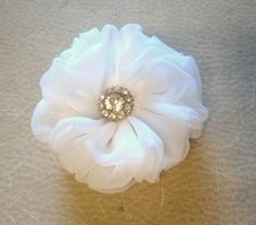 Hey, I found this really awesome Etsy listing at https://www.etsy.com/listing/226676061/flower-for-hair-white-hair-clip-bridal