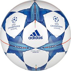Adidas Footballs UCL New Finale Sportivo UEFA Champions league S90232  White Blue 5c3a0d4a1035f