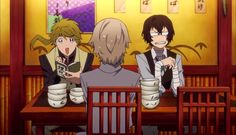 Dazai & Kunikida face swap LMAO