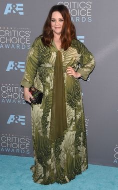 Melissa McCarthy from 2016 Critics' Choice Awards Red Carpet Arrivals  We spy a potential winner the Best Actress in a Comedy category.