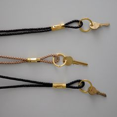 LEATHER KEYCHAIN LANYARD  (for your teen)
