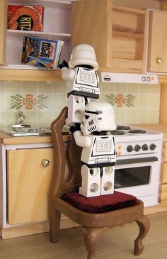 Stormtroopers going for snacks