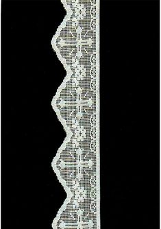 Cotton Lace Filet Italy Tuscany Pistoia Florence