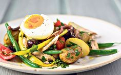 Don't be snobby about using tinned tuna in niçoise salad - it's fantastic