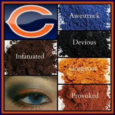 Younique football Chicago Bears colors  https://www.youniqueproducts.com/ShannonDoty