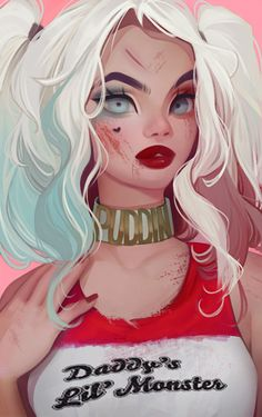 Harley Quinn by Amethylia