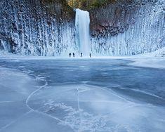 Frozen in time.