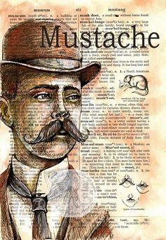 Mustache by Kristy Patterson