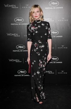 Kirsten Dunst in Marc Jacobs at the Women in Motion Gala Awards - 2016 Cannes Film Festival
