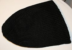 This is my son's favorite beanie/hat. I have made so many of them for him and his friends that I've now lost count!