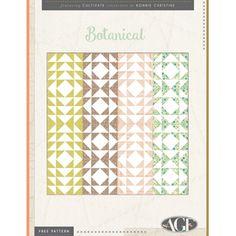Botanical Free Quilt Pattern Download