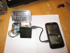 DIY Solar USB Charger!