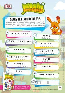 Snowballs in Summer Moshi Monster 6th birthday party I