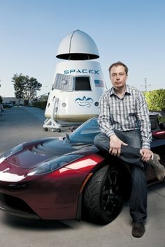 Elon Musk - genius.