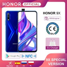 Special Version Honor 9X Smartphone 4G128G 48MP Dual Cam 6.59'' Mobile Phone Android 9 4000mAh OTA Google Play honor smartphone logo, honor smartphone wallpaper, Huawei honor smartphone, latest mobile phones smartphone, best mobile phone smartphone, latest phones smartphone, cheap smartphones, new mobile phone smartphone, smartphone technology