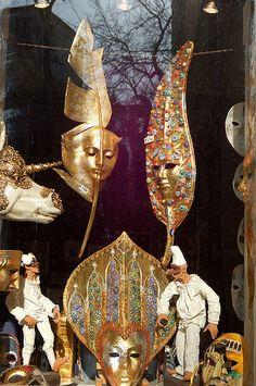 carnival mask, Venice   Flickr - Photo Sharing!
