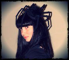 Halloween Spider Fascinator