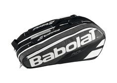Now available on our store: Babolat Pure Grey... Check it out here! http://www.racquetpoint.com/products/babolat-pure-grey-9-racquet-holder-tennis-bag?utm_campaign=social_autopilot&utm_source=pin&utm_medium=pin