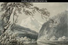 Near Grindelwald, c.1796 - Joseph Mallord William Turner - www.william-turner.org