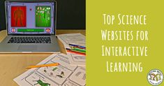 If you're looking for something fun to do while teaching science, here's our top ten list of interactive websites for scientific learning Getting Nerdy Science Science Inquiry, 6th Grade Science, Science Topics, Middle School Science, Science Classroom, Teaching Science, Science Education, Science Activities, Science Websites