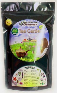 Herbal Tea Garden Pack $69 - Herbal Tea Seeds - 21 Varieties - 100% Open Pollinated.
