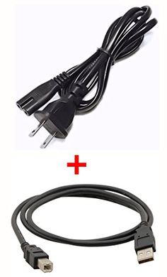 AC Power Cord Adapter Canon For PIXMA MP280 MP250 MP270 MP450 All In One Printer Ship From USA