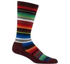 If you live in a cold climate, it's just about impossible to have too many high-quality socks. These Wigwam socks are cute and made in the USA with a merino wool/nylon blend, and a hint of Spandex for stretch.