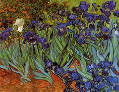 Vincent van Gogh - Irises, Saint-Rémy: May, 1889