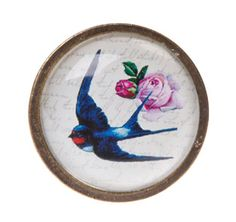 Swallow Drawer Knob | Door & Drawer Knobs | Sass & Belle