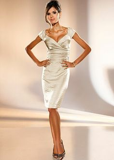"Champagne Metallic...Maybe ""THIS"" dress???"