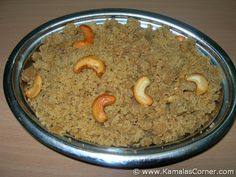 Aval (Poha) Puttu - a very quick sweet!