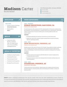 1000+ images about Design on Pinterest | Templates, Resume cv and ...
