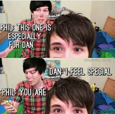 I can't get over dan's eyes in the second picture