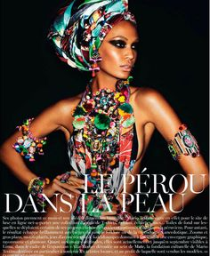 Joan Smalls - EB will love this look...
