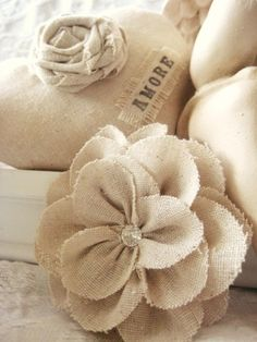 wedding decorations with burlap 1000 ideas about easy fabric flowers on 9167