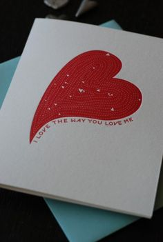 Awesome valentine's day card