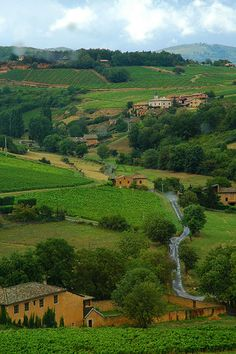 The French countryside ~ Frontenas, Rhone-Alpes | Flickr - Photo Sharing!