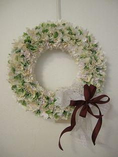 布リース Grapevine Wreath, House Colors, Grape Vines, Floral Wreath, Wreaths, Crafts, Yahoo, Home Decor, Flowers