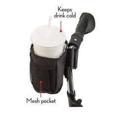 CLIP ON MOBILITY CUP HOLDER | Taylor Gifts