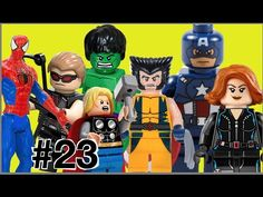 #23 Lego Imaginext Playskool Minecraft: Spider Man  Gavião Arqueiro Capi...