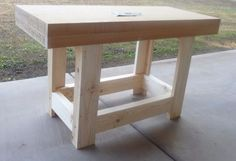 Picture of Build a Child's Workbench Any Size You Want http://ewoodworkingprojects.com/wooden-boxes/